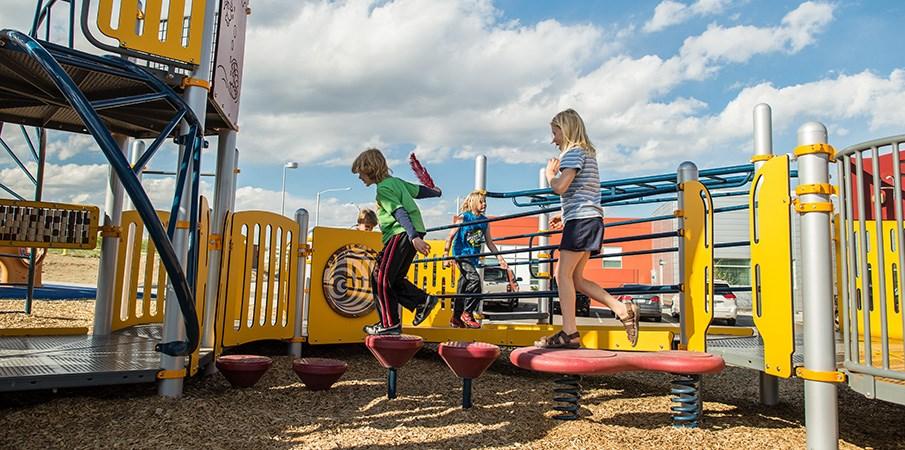 Arista Sensory Park Inclusive Playground