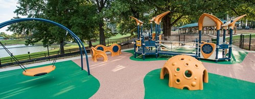 Inclusive Playgrounds Offer Kids a Place to Grow