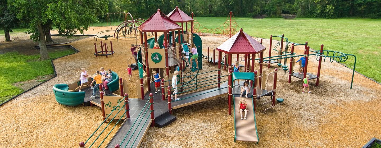 Caroline Elementary School - School Playground