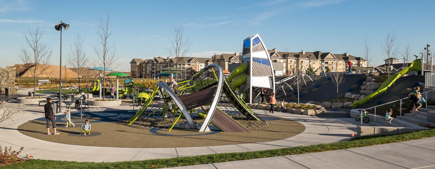 Central Park of Maple Grove - Innovative Playground Equipment