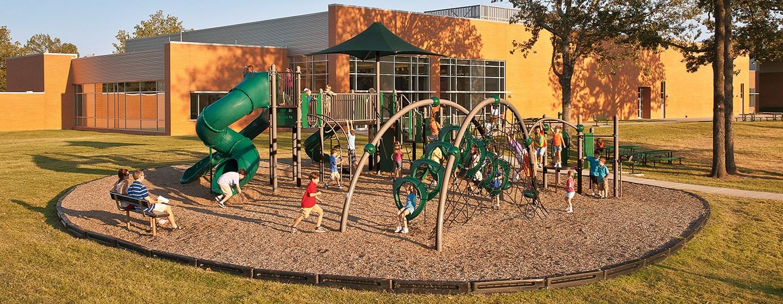 Dr. Don R. Robert's Elementary - School Playground