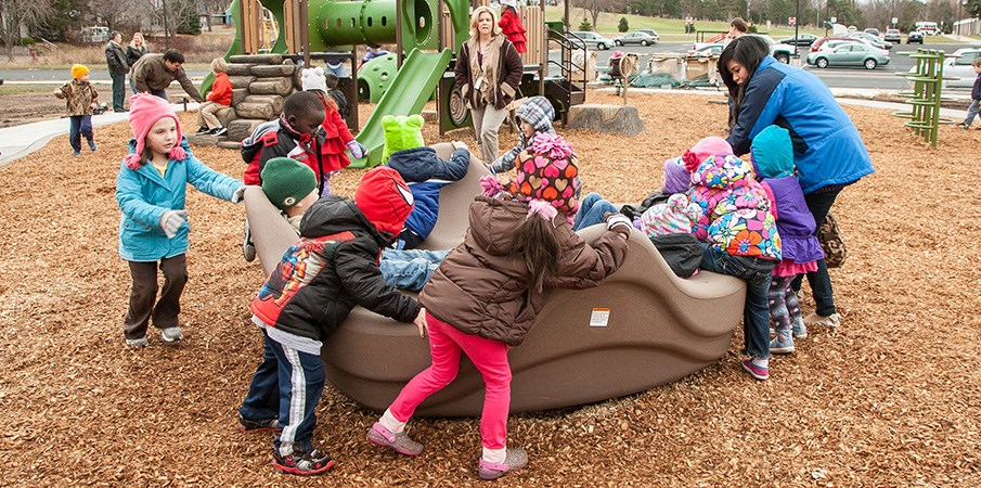 Early Childhood Family Center Developmental Playground