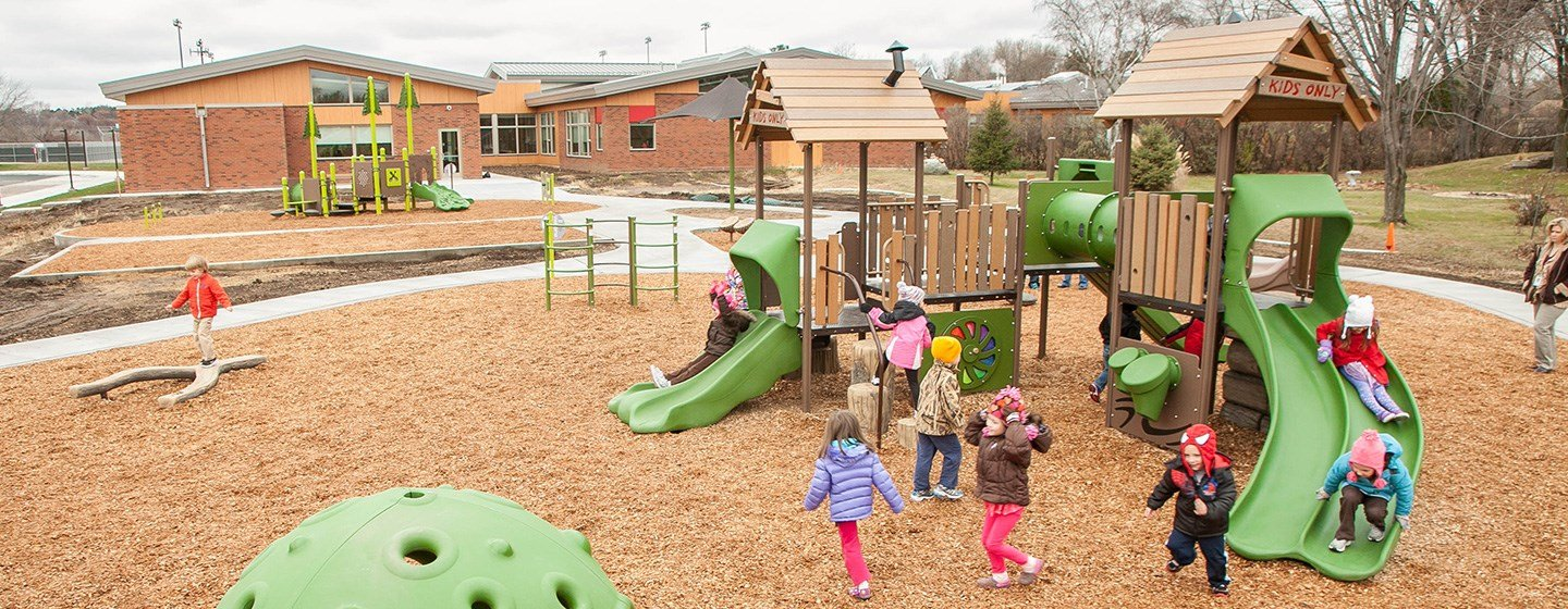 Early Childhood Family Center Developmental Playground