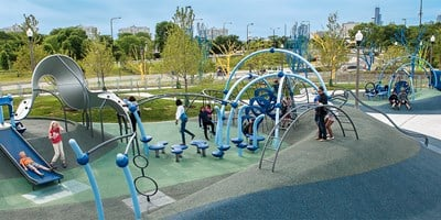 Edwin C Berry Playground, Burnham Park
