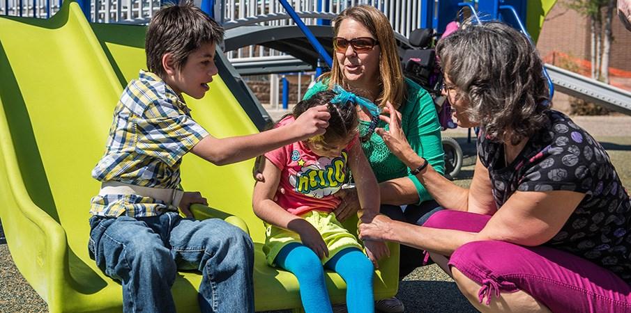Fletcher Miller School Inclusive Playground
