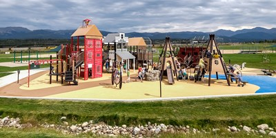 Fraser Valley Historic Playground at Fraser Valley Sports Complex