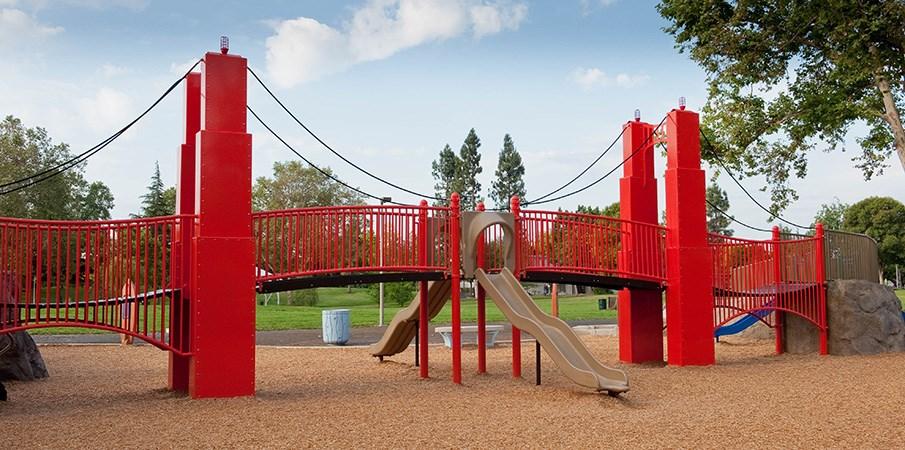 Golden Gate Bridge Park Custom Playground