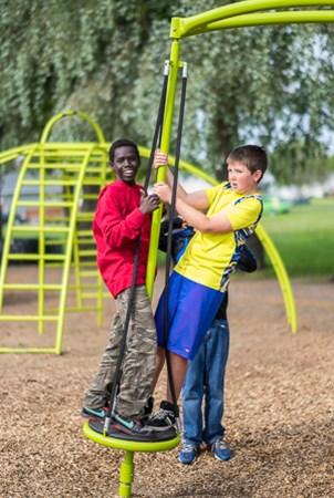 La Verendrye School Net Based Playground School