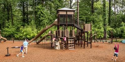 lake rebecca park reserve nature inspired playground. Black Bedroom Furniture Sets. Home Design Ideas