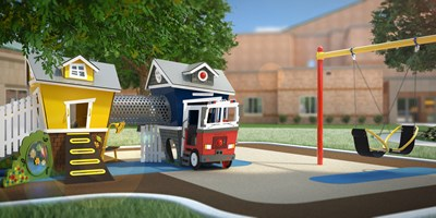 Loft + Fire Station and Friendship® Swing