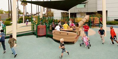 Everychild Foundation Universally Accessible Playground LA Ortho Hospital