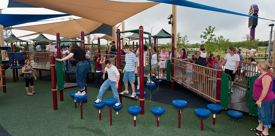 Morgan S Wonderland Inclusive Playground