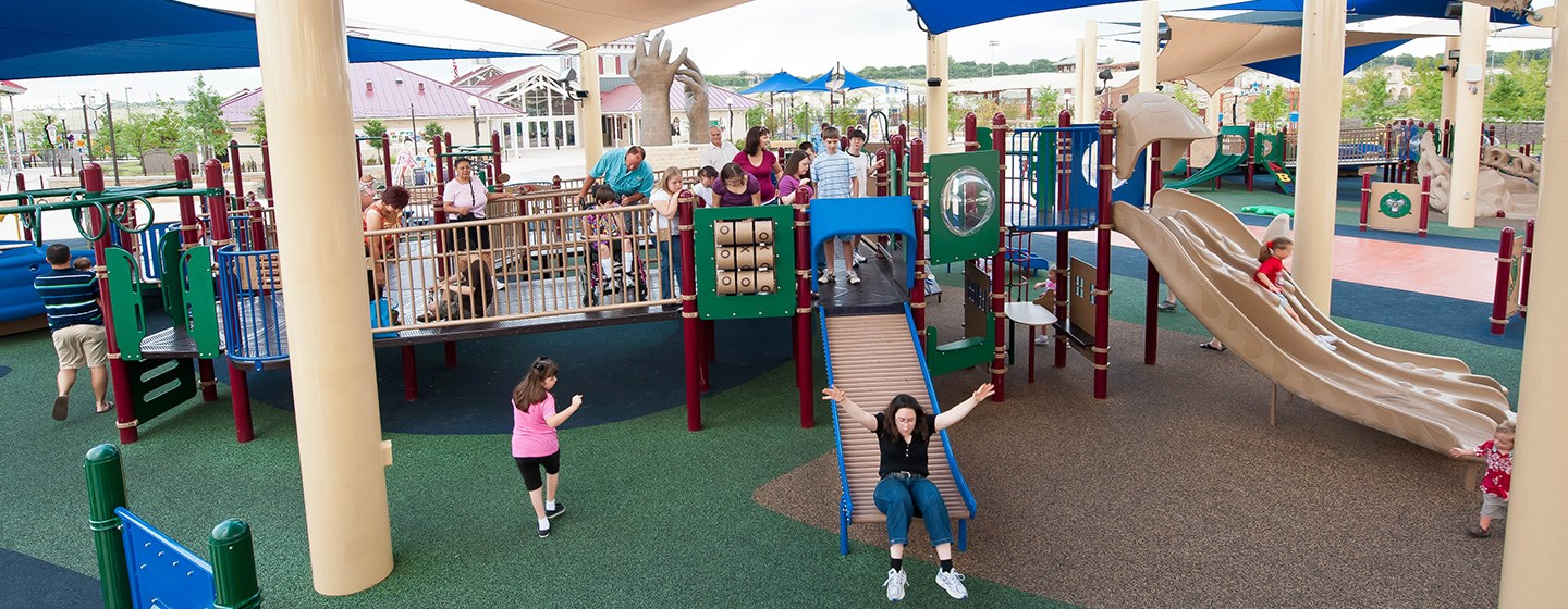 Morgan S Wonderland Inclusive Playground