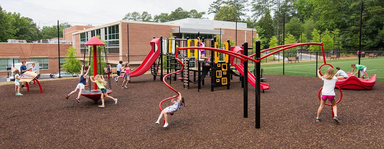 Morris Brandon Primary Center - School Playground