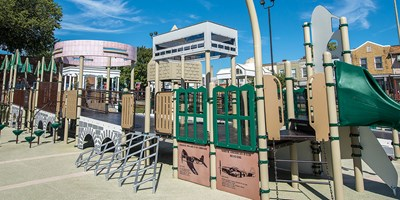 Rosedale Community Center Playground