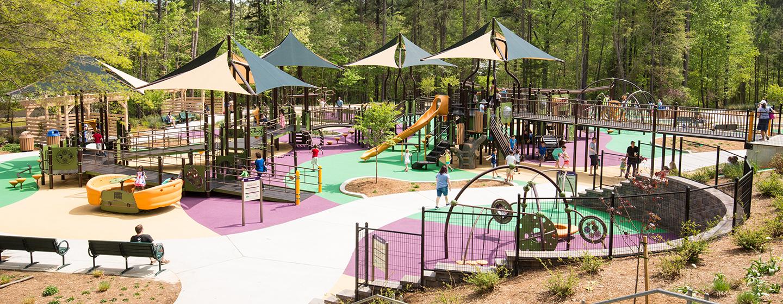 Sassafras All Children S Playground Laurel Hills Park