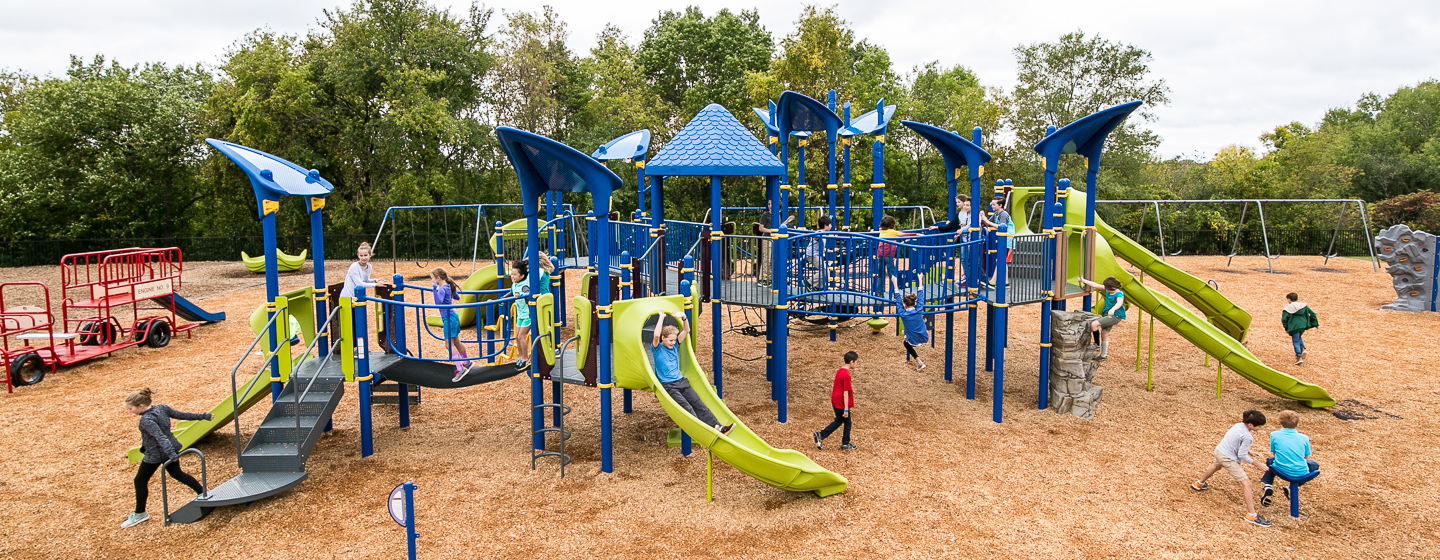 Scenic Heights Elementary School - Large playground to ...