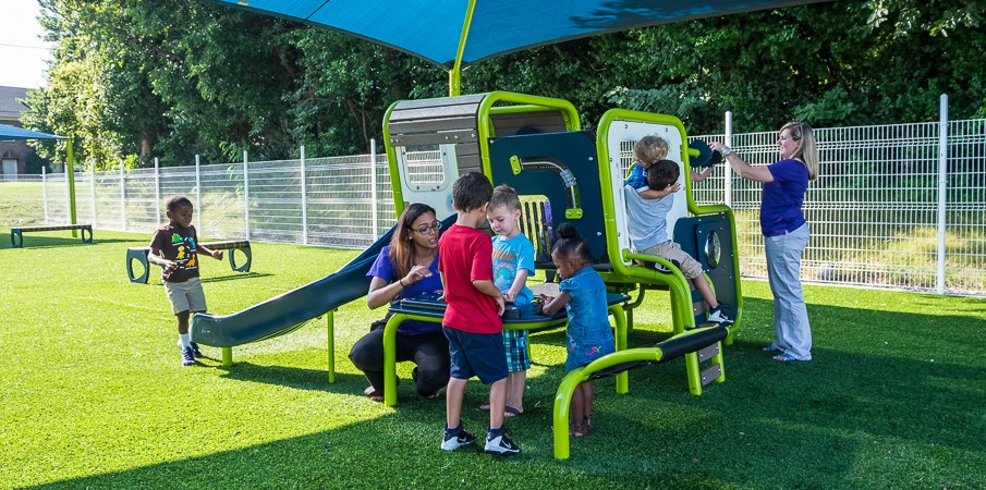 Smart Start Childcare Center Outdoor And Indoor
