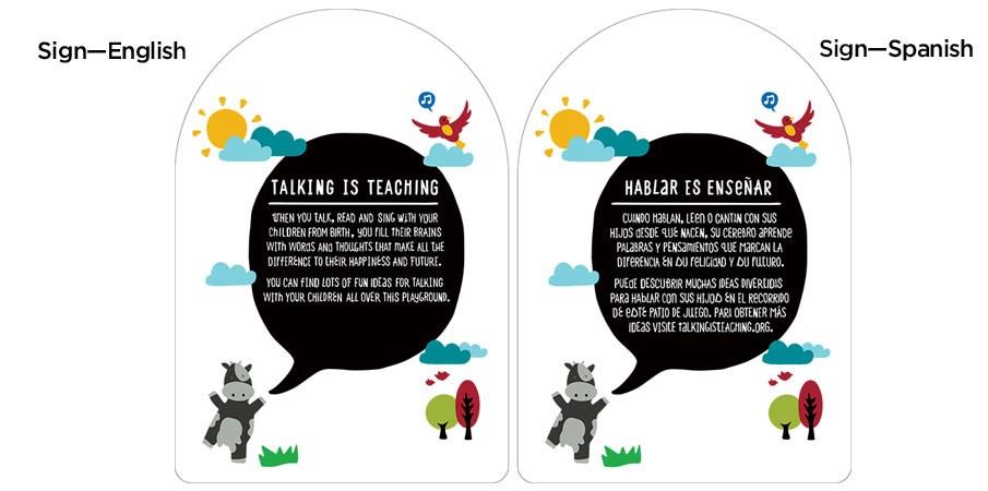 Talking is Teaching: Talk, Read, Sing 6-23 mos