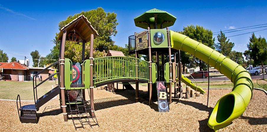 Villa Montessori School Custom School Playground