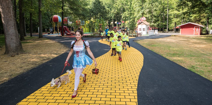 Watkins Regional Park - Wizard of Oz Themed Playground