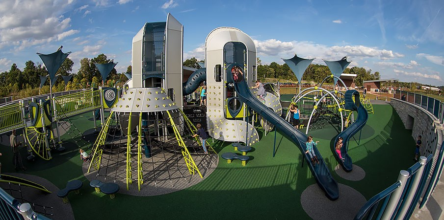 West Commons Playground At Central Park Spectacular
