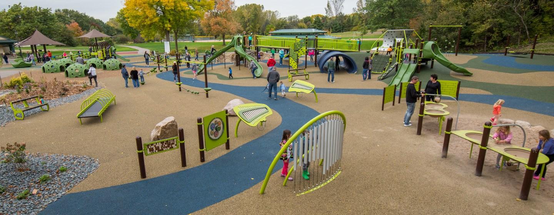 Woodridge Park Unique Custom Community Park