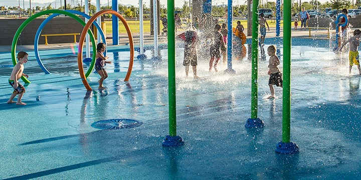 AquaFlex Non-Porous Water Play & Pool Deck Surfacing