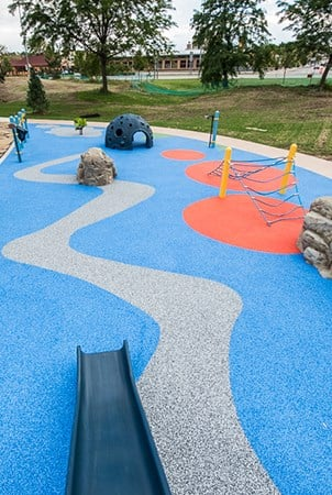 Pebbleflex 174 Playground Safety Surfacing