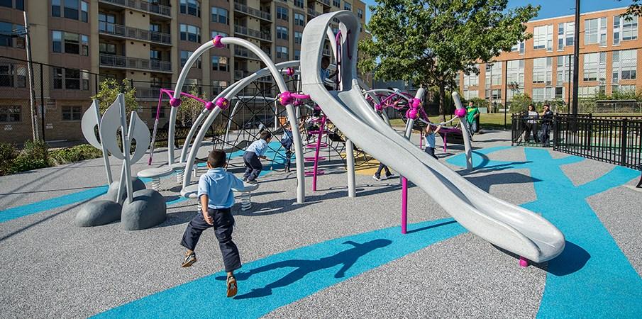 Ihram Kids For Sale Dubai: PebbleFlex® Playground Safety Surfacing